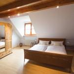 Schlafzimmer Fereinwohnung Kressbronn