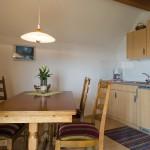 Essbereich und Küche Ferienwohnung Kressbronn