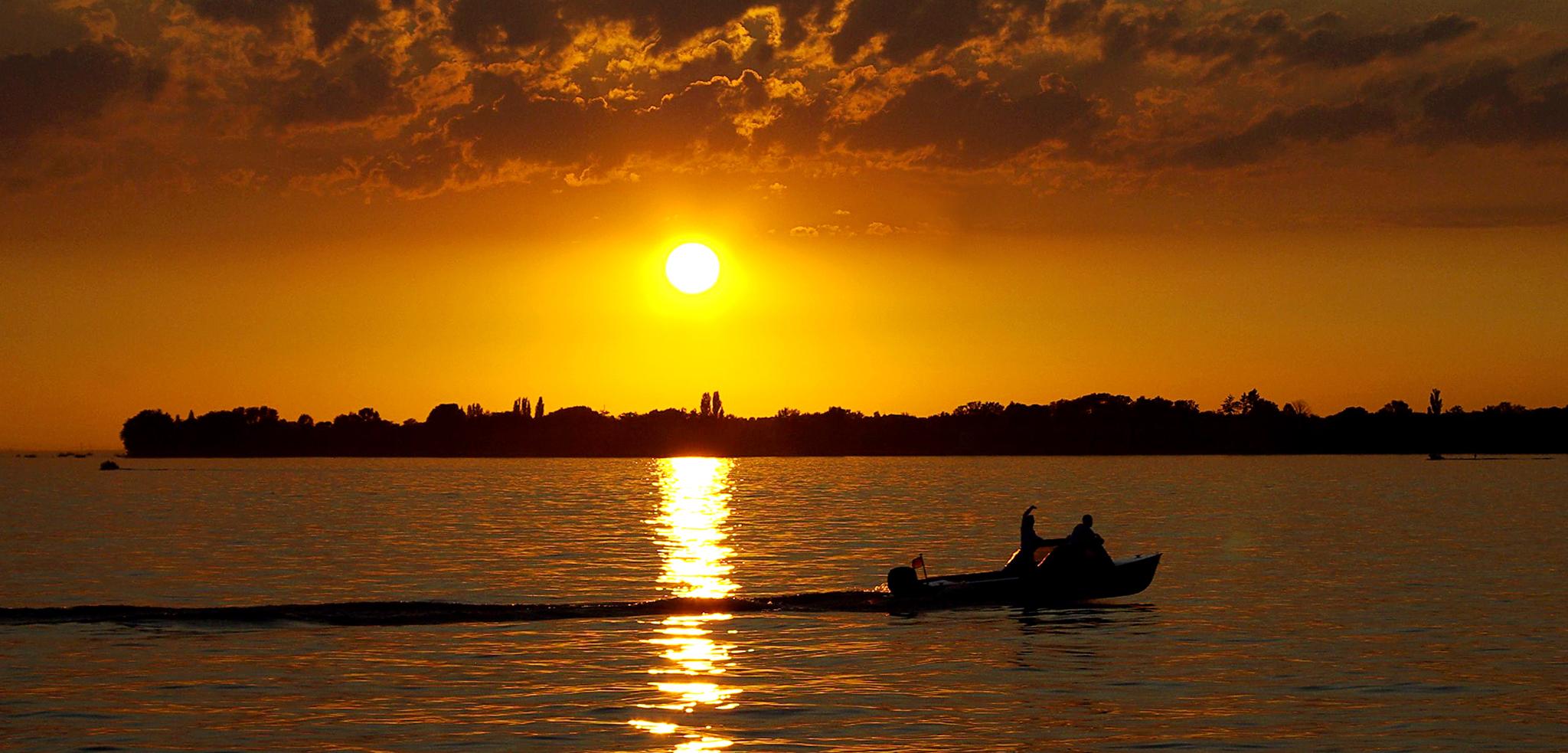 Sonnenuntergang-bodensee